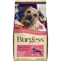 Burgess Sensitive Adult Dog Salmon & Rice big image