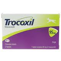 Trocoxil Chewable Tablet for Dogs 95mg (Single Tablet) big image