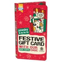 Good Boy Christmas Festive Gift Card for Dogs big image