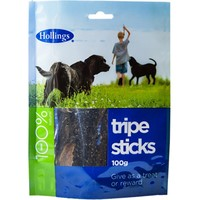 Hollings Tripe Sticks Treats for Dogs big image