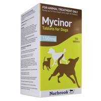 Mycinor 150mg Tablets for Dogs big image