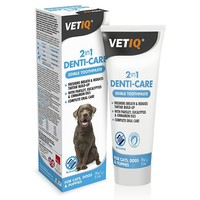 VetIQ 2in1 Denti-Care Edible Toothpaste for Dogs & Puppies 70g big image