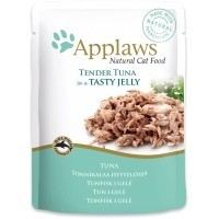 Applaws Adult Cat Food in Jelly 16 x 70g Pouches (Tuna Wholemeat) big image