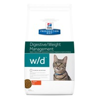 Hills Prescription Diet WD Dry Food for Cats big image
