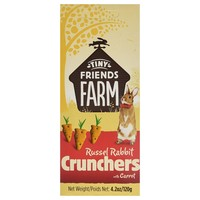 Supreme Tiny Friends Farm Russell Rabbit Crunchers 120g big image