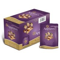 Applaws Adult Cat Food in Broth 12 x 70g Pouches (Chicken with Wild Rice) big image