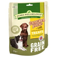 James Wellbeloved Grain Free Crackerjacks 225g (Lamb) big image