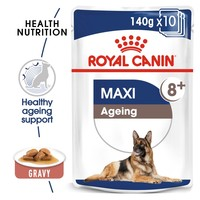 Royal Canin Maxi Ageing 8+ Wet Dog Food in Gravy big image