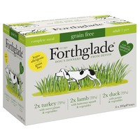 Forthglade Complete Meal Grain Free Dog Food Multipack (Turkey/Duck/Lamb) big image