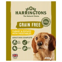 Harringtons Grain Free Wet Food Trays for Dogs (Turkey & Potato) big image