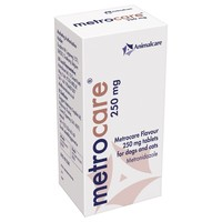 Metrocare 250mg Flavoured Tablets for Dogs and Cats big image