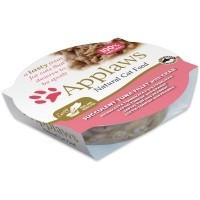 Applaws Adult Cat Food in Broth 10 x 60g Pots (Succulent Tuna Fillet with Crab) big image