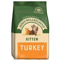 James Wellbeloved Kitten Dry Cat Food (Turkey & Rice) big image