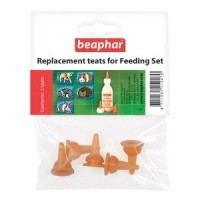 Beaphar Replacement Teats for Feeding Set big image