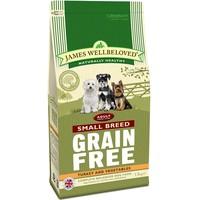James Wellbeloved Grain Free Adult Dog Small Breed (Turkey & Vegetables) big image
