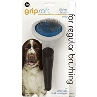 JW Gripsoft Slicker Grooming Brush for Dogs big image