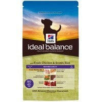 Hills Ideal Balance Mature 7+ Adult Dog Food (Chicken & Rice) big image