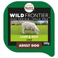 Nutro Wild Frontier Adult Dog Wet Food Tray (Lamb & Beef) big image