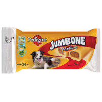 Pedigree Jumbone Medium Chews (Beef) big image