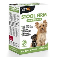 VetIQ Stool Firm 45 Tablets big image