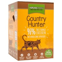 Natures Menu Country Hunter Cat Food 6 x 85g Pouches (Chicken and Heart) big image