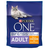 Purina One Adult Cat Food (Chicken & Whole Grains) big image