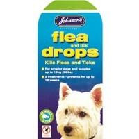 Johnson's Flea Drops for Small Dogs big image