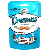 Dreamies Salmon Flavoured Cat Treats big image