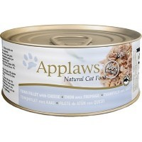 Applaws Adult Cat Food in Broth Tins (Tuna Fillet & Cheese) big image