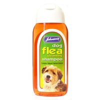 Johnson's Flea Cleansing Shampoo for Dogs 200ml big image