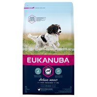 Eukanuba Active Adult Medium Breed Dog Food (Chicken) 12Kg big image