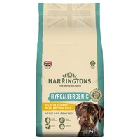 Harringtons Complete Hypoallergenic Dry Food for Adult Dogs (Turkey with Brown Rice) 5kg big image
