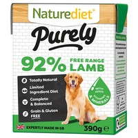 Naturediet Purely Wet Food for Dogs (Lamb) big image