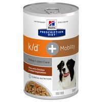 Hills Prescription Diet KD Plus Mobility Tins for Dogs (Stew with Chicken & Vegetables) big image