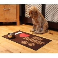 Pet Rebellion Dinner Mate I Love My Dinner Mat 40 x 60cm big image