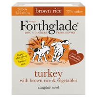 Forthglade Complete with Brown Rice Puppy Food (Turkey & Veg) 18 x 395g big image