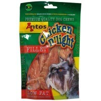 Antos Chicken D'Light Fillet Dog Treat 100g big image