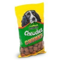 Foldhill Chewdles Chunks Chicken Flavoured Dog Treats 180g big image