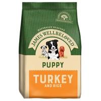 James Wellbeloved Puppy Dry Dog Food (Turkey & Rice) big image