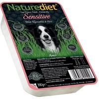 Naturediet Sensitive Dog Food 18 x 390g (Salmon/Vegetables/Rice) big image