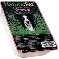 Naturediet Sensitive Dog Food 18 x 390g (Salmon/Vegetables/Rice) big image