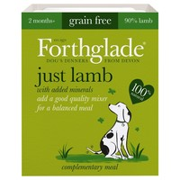 Forthglade Just Lamb Grain Free Dog Food (18 x 395g) big image