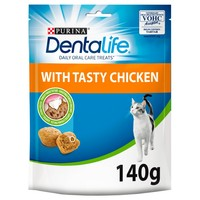 Purina Dentalife Dental Chews with Tasty Chicken for Cats big image
