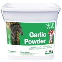 NAF Garlic Powder Horse Supplement 1kg big image