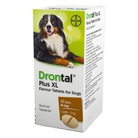 Drontal Plus XL for Dogs (OUTER 48 TABLETS) big image