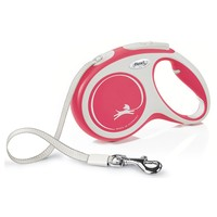 Flexi New Comfort Retractable 5m Tape Lead (Medium) big image