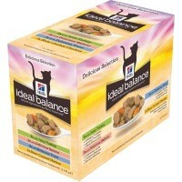 Hills Ideal Balance Adult Cat Food Pouches 12 x 85g (Delicious Selection) big image