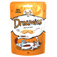 Dreamies Chicken Flavoured Cat Treats big image