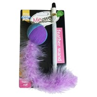 Good Girl Meowee Feather Wand for Cats big image