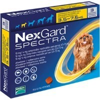 NexGard Spectra Chewable Tablets for Small Dogs big image